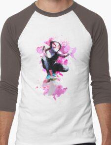 Spider-Gwen - Splatter Art Men's Baseball ¾ T-Shirt
