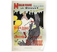 Les Affiches Illustrees 1886 1895 Ouvrage Orne de 64 Ernest Maindron Jules Cheret 1896 0089 Moulin Rouge Poster