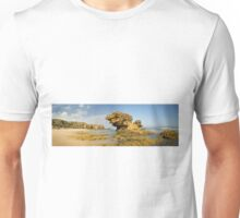 Split Point Pano, Aireys Inlet, Victoria Unisex T-Shirt