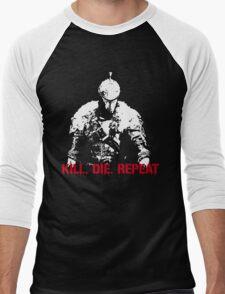 Kill, die, repeat Men's Baseball ¾ T-Shirt