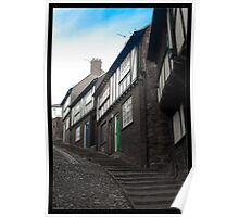 Cottages of Stepcote Hill Poster