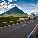 Buachaille Etive Mor and the A82 by James Grant