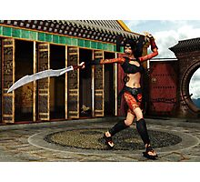 Battle Cry Photographic Print