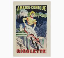 Les Affiches Illustrees 1886 1895 Ouvrage Orne de 64 Ernest Maindron Jules Cheret 1896 0033 Gigolette Baby Tee