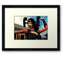 Battle Cry - Close up Framed Print