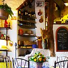 Vintage Provence Kitchen Interior in Ramatuelle, South of Saint Tropez by Bruno Beach