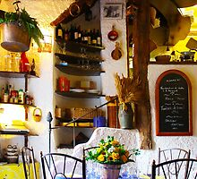 Vintage Provence Kitchen Interior in Ramatuelle, South of Saint Tropez by Atanas Bozhikov Nasko