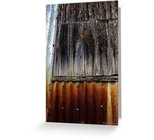 Rust & Wood - West End Series Greeting Card