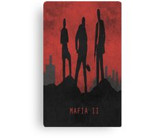 Mafia 2 Game Poster Canvas Print