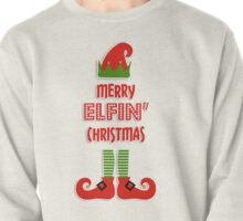 Merry Elfin' Christmas Pullover