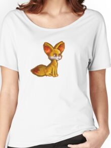 Fire Fennekin Pokemon  Women's Relaxed Fit T-Shirt