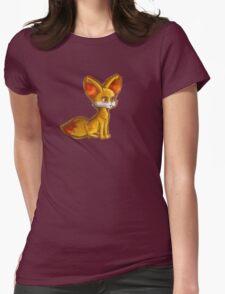 Fire Fennekin Pokemon  Womens Fitted T-Shirt