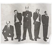 Tuxedo Monsters Poster