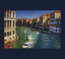 Looking North on the Grand Canal Kids Tee