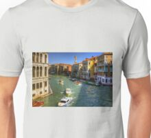 Looking North on the Grand Canal Unisex T-Shirt