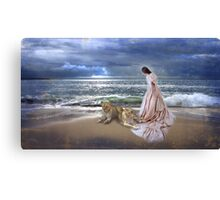"""The Guardian Lionesses"" Canvas Print"