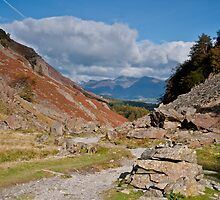 Castle Crag and Skiddaw by James Grant