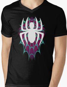 Spider Gwen Design Mens V-Neck T-Shirt