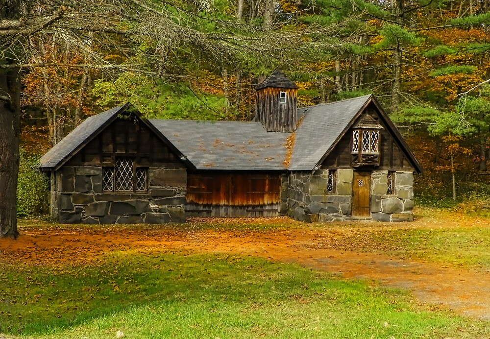 Grist Mill Barn by Pamela Phelps