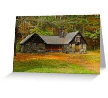Grist Mill Barn Greeting Card