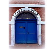 Custom House Photographic Print