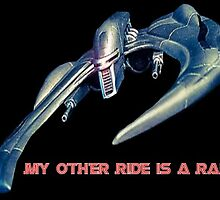 My Other Ride Is A Raider by BSG-C-Rebels