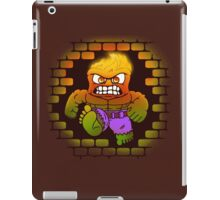 DONT MAKE HIM ANGRY iPad Case/Skin