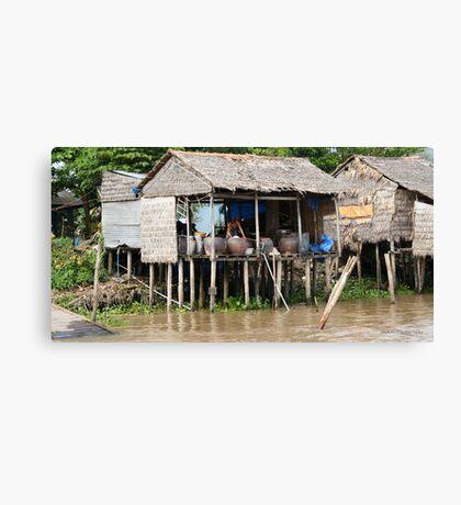 Daily Living - Viet Nam Canvas Print
