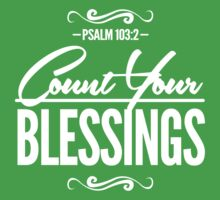 Count Your Blessings Kids Tee