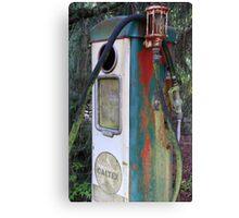 Relic Caltex Petrol Bowser Canvas Print