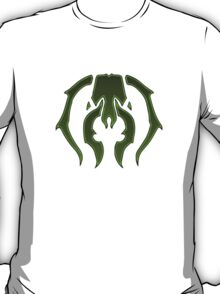 A Black Green Insect T-Shirt