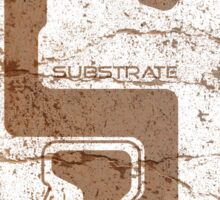 Substrate cardboard Sticker