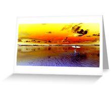 Surfer #2 - Byron Bay Greeting Card