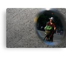 The Woman in the Mirror Canvas Print