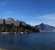 Lake Wakatipu by Charles Kosina
