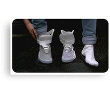 Shoes Marty McFly BTF  Canvas Print