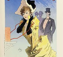 Les Affiches Illustrees 1886 1895 Ouvrage Orne de 64 Ernest Maindron Jules Cheret 1896 0039 Theatrophone by wetdryvac