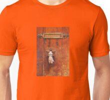 Vintage letter box in Saint Tropez, French Riviera  Unisex T-Shirt