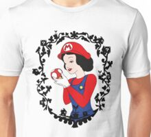 snow mario portrait Unisex T-Shirt