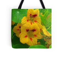 Nasturtium Coffee Clutch Tote Bag