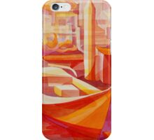 red marina, ventura harbor iPhone Case/Skin