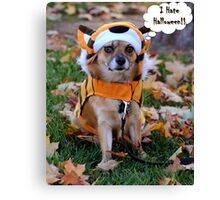 Happy Halloween to One and All Canvas Print