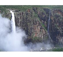 Wallerman Falls- The highest single drop falls in Australia Photographic Print