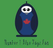 Number 1 Blue Jays Fan Baby Tee