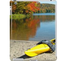 Yellow Kayak iPad Case/Skin