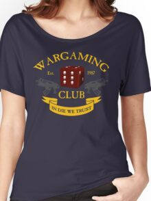 Wargaming Club Badge Women's Relaxed Fit T-Shirt