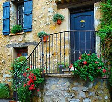 Medieval Village of Fayence in France by Atanas Bozhikov Nasko