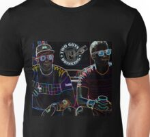Two Guys in Crazy Neon Unisex T-Shirt