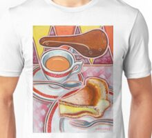 Eroica Britannia and Bakewell Pudding on Pink Unisex T-Shirt