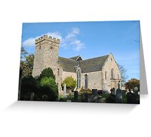 Cramond Kirk, Edinburgh Greeting Card
